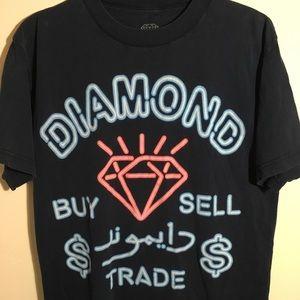 Diamond Supply Co. Shirts - Diamond brand neon sign shirt